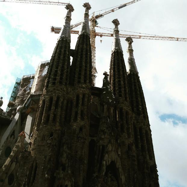 Sagrada Família. Start bulding: 1982. Planned to finish: 2026