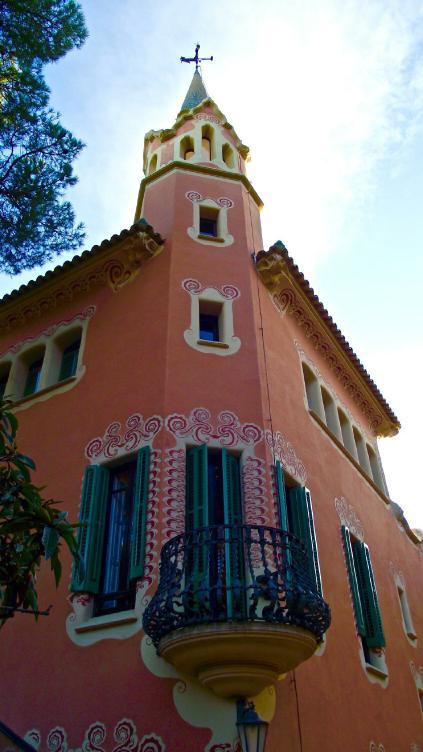 ©Lydia Gerber, Hamburg. The house where Gaudí lived in the Park Güell