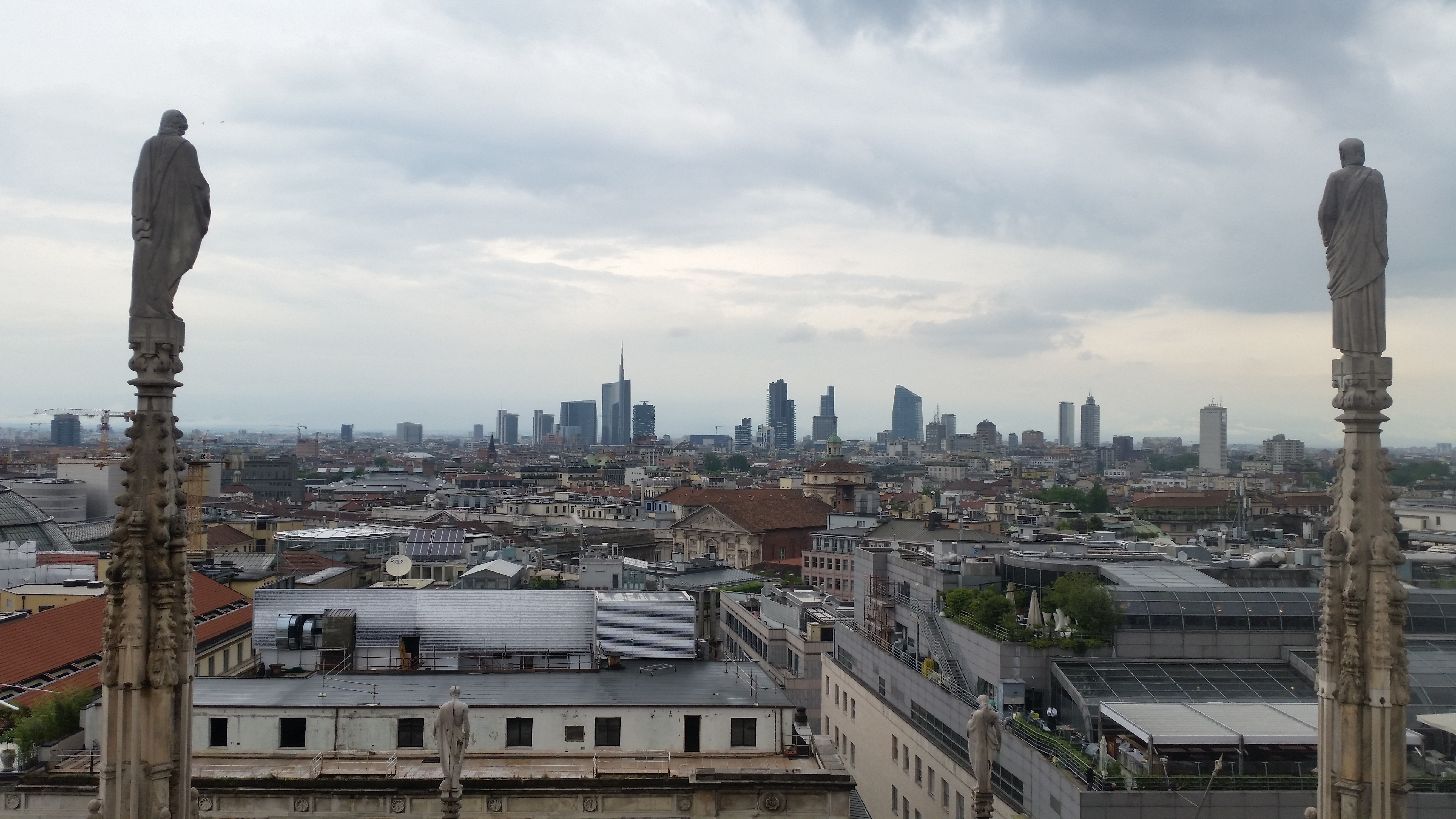 "View of the ""skyline"""
