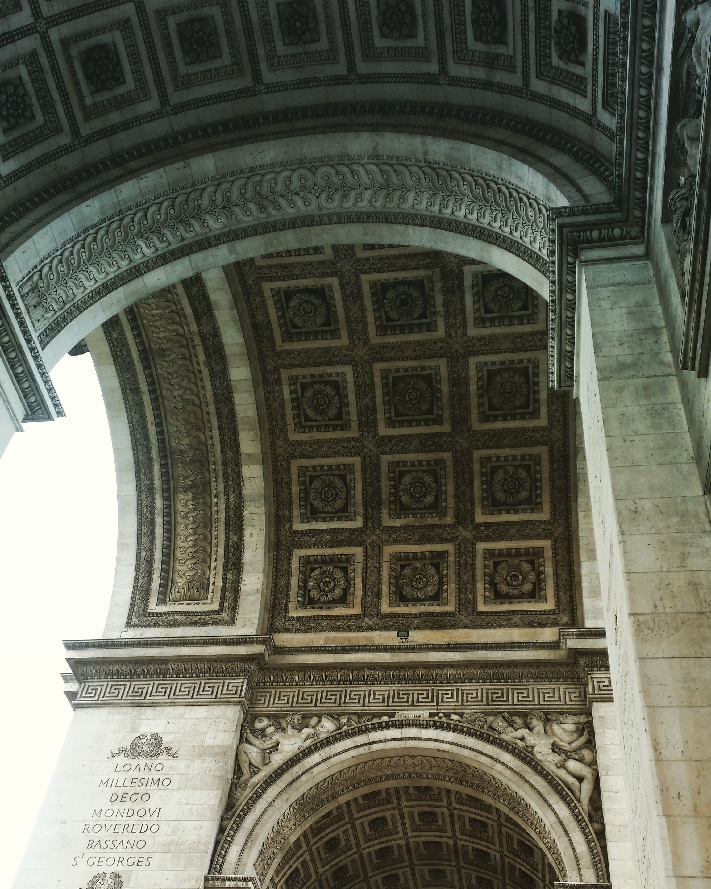 Details of Arc de Triomphe