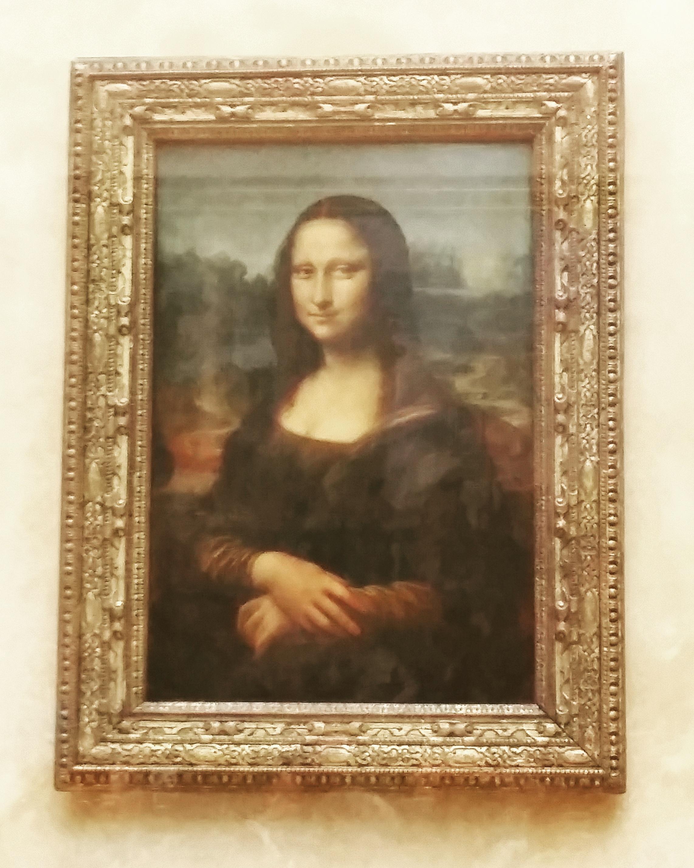 Mona Lisa - Leonardo da Vinci (Louvre)