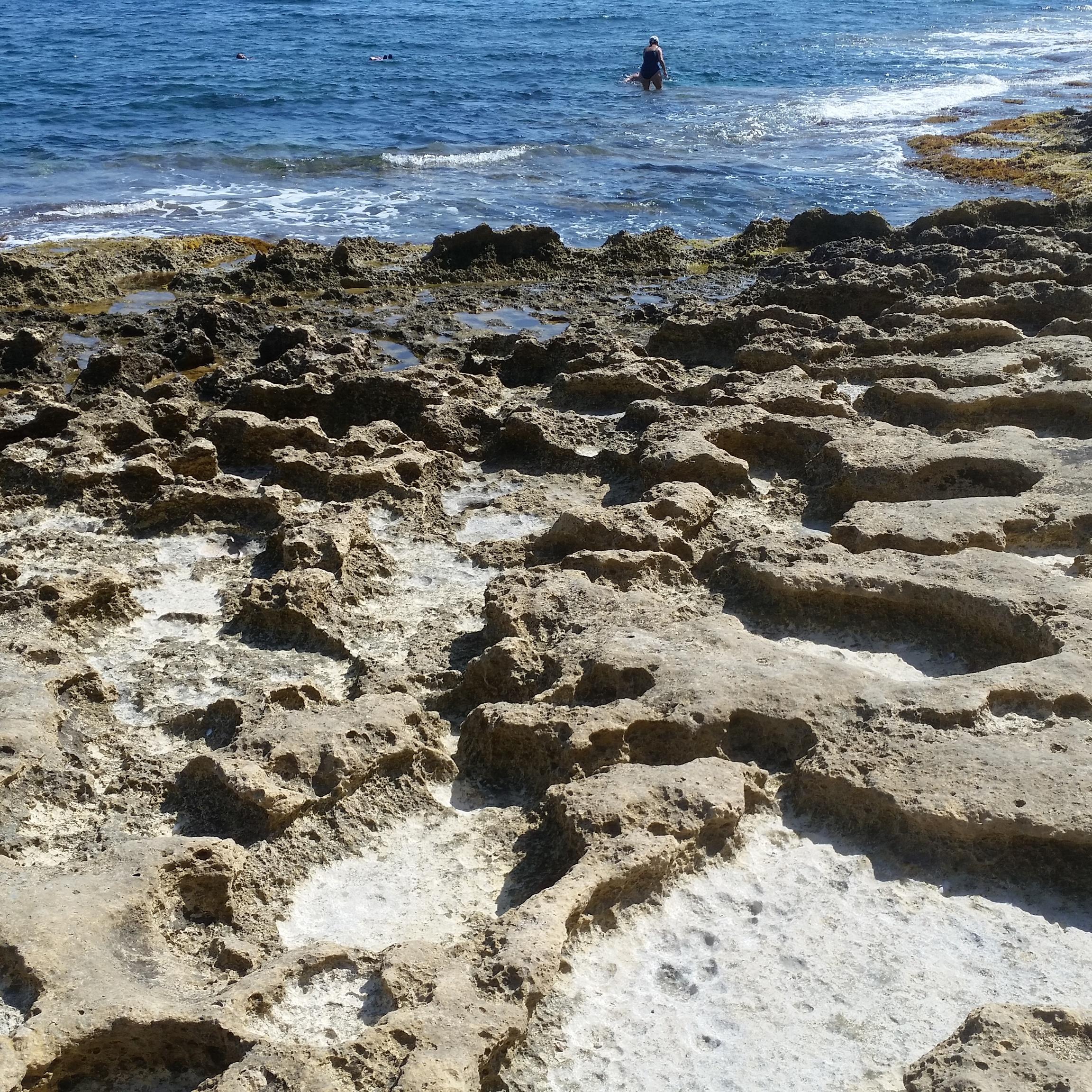 Sand sucht man meistens vergebens...