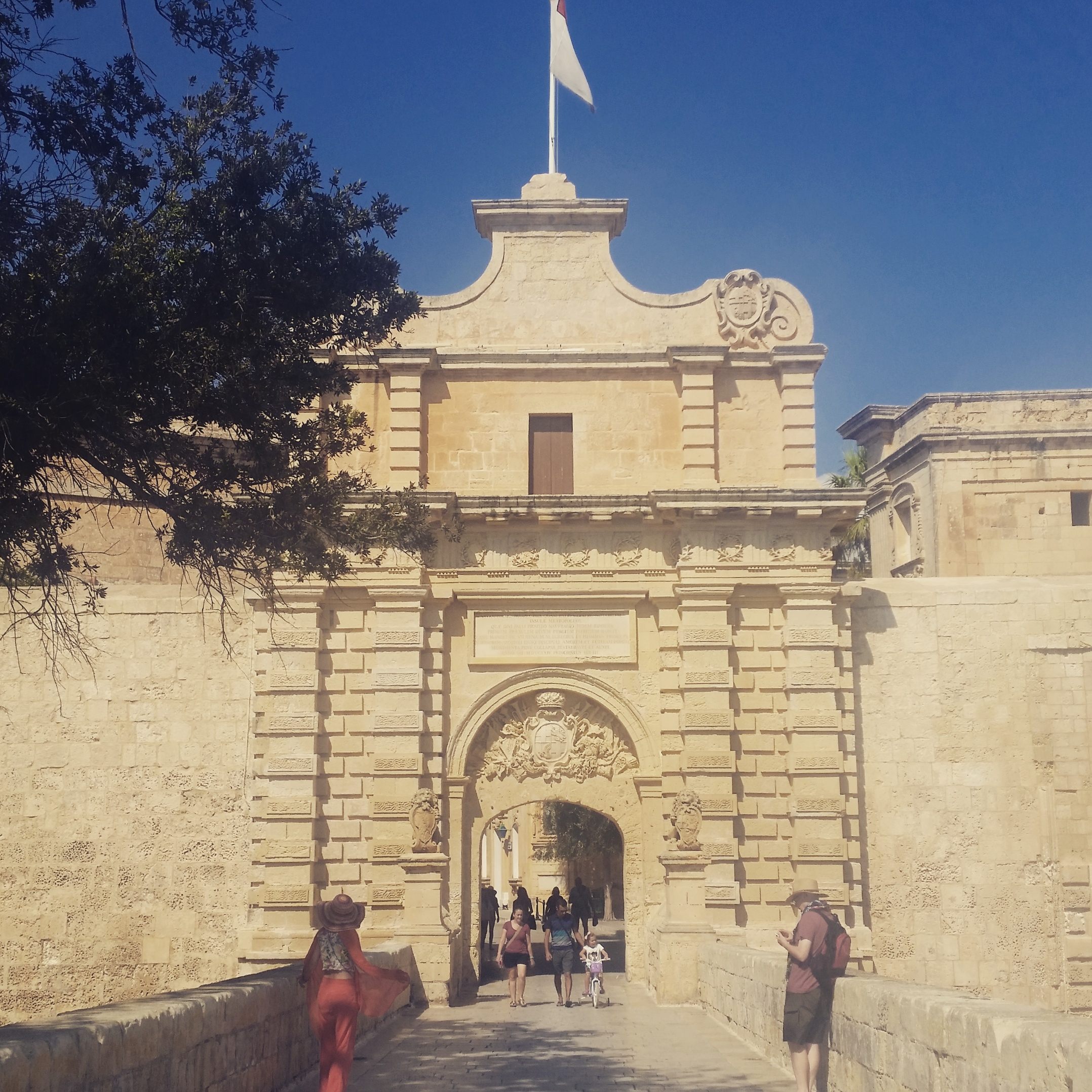 Mdina, Main Gate