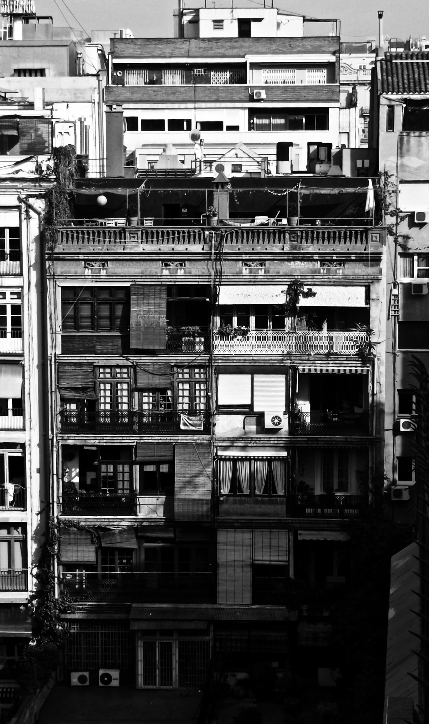 ©L. Gerber, houses in Bon Pastor, Barcelona