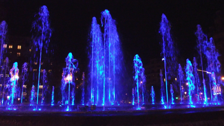 ©L. Gerber, Plaza de Catalunya, Barcelona