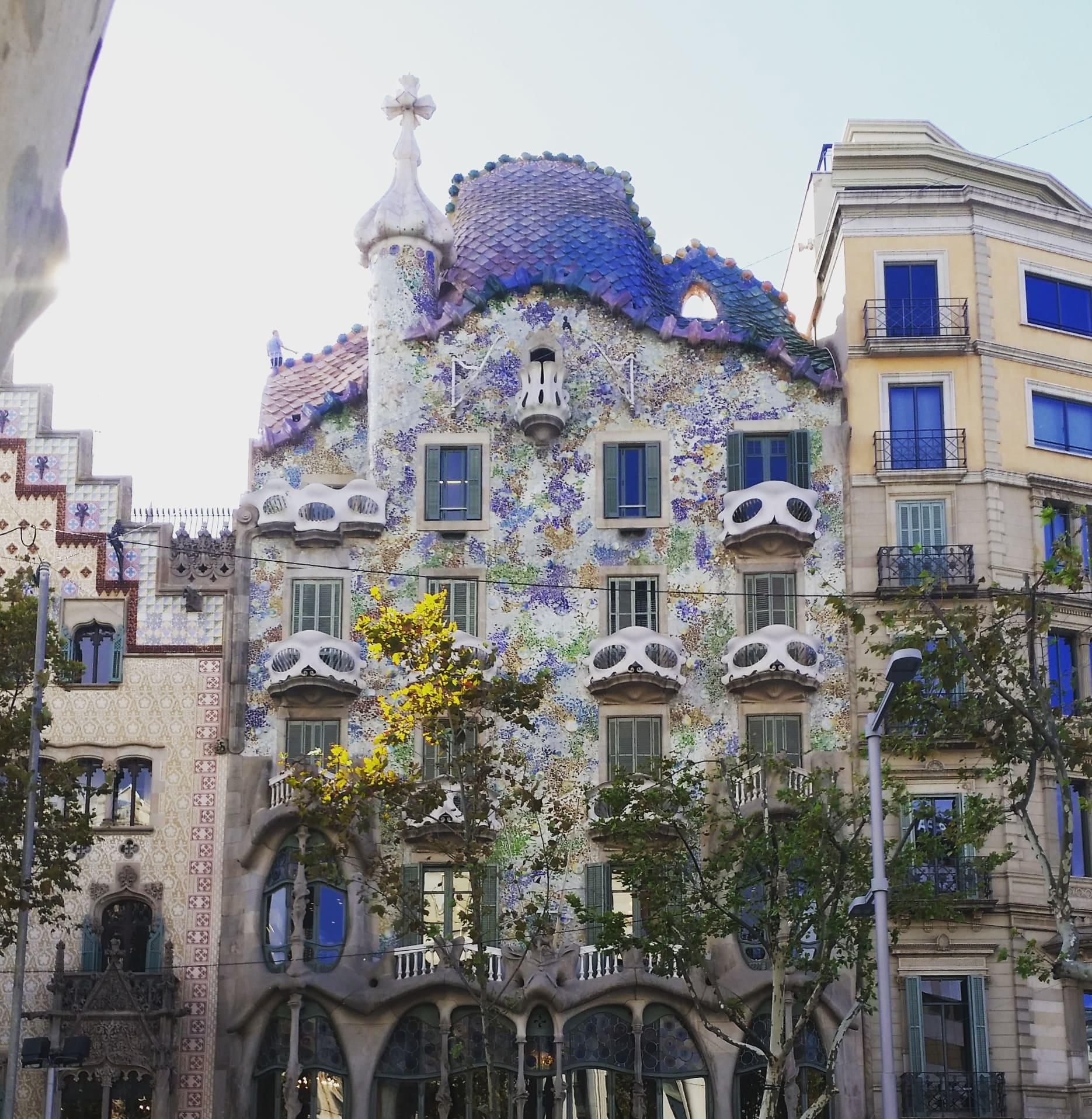 Casa de Battló, Passeig de Grácia, Barcelona